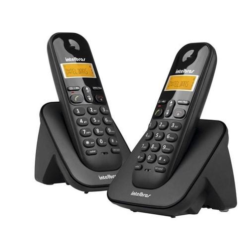 Telefone Sem Fio com Ramal Intelbras TS3112 Bivolt