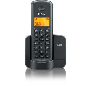 Telefone Sem Fio Elgin com Identificador de Chamadas TSF8001 Preto