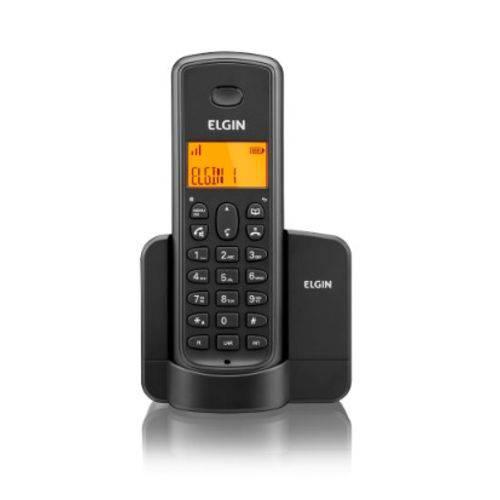 Telefone Sem Fio Elgin TSF 8001 Preto