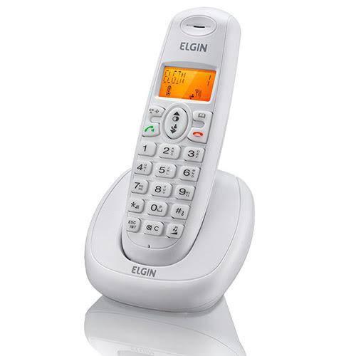 Telefone Sem Fio Elgin Tsf7001 (1 Base Branco)