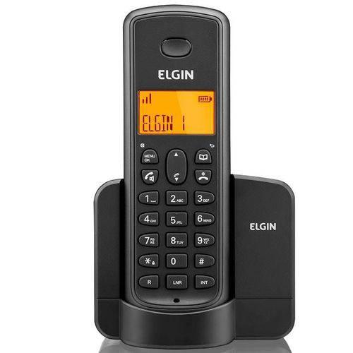 Telefone Sem Fio Elgin Tsf8001 com Identificador Preto