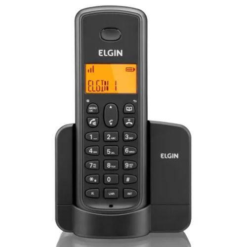 Telefone Sem Fio Elgin Tsf8001 Viva Voz Preto