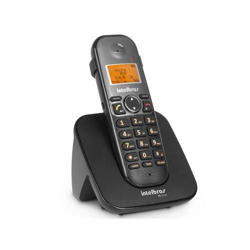 Telefone Sem Fio Intelbras com Viva Voz e Identificador de Chamadas - TS5120