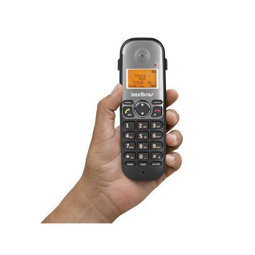 Telefone Sem Fio Intelbras Ts 5120 Viva-voz 1,9 Ghz Dect 6.0 + 1 Ramal Ts 5121 Viva-voz 1,9 Ghz Dect 6.0