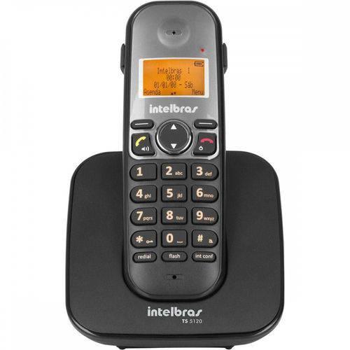 Telefone Sem Fio Intelbras Ts 5120 Viva-voz 1,9 Ghz Dect 6.0