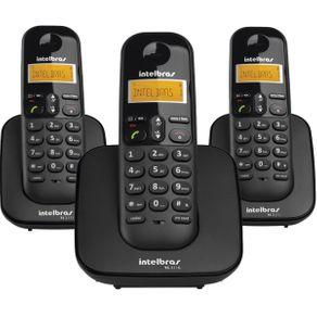Telefone Sem Fio Intelbras TS3113 com +2 Ramais
