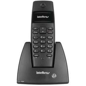 Telefone Sem Fio Intelbras TS40 Preto 6.0 Bivolt 4070355