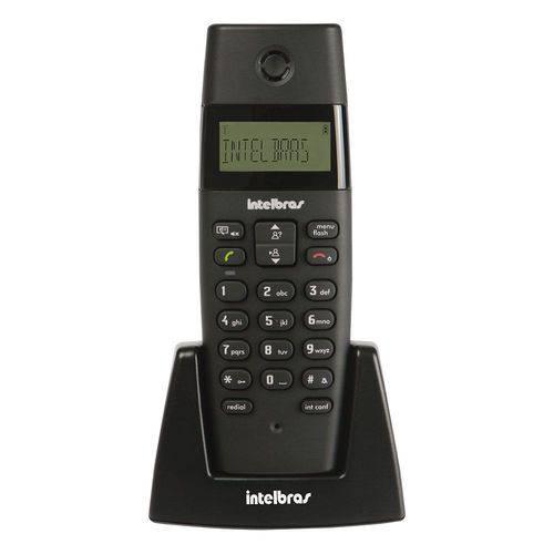 Telefone Sem Fio Intelbras Ts40r Ramal Preto