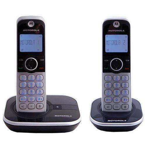 Telefone Sem Fio Motorola Gate 4800-2 6.0 com Identificador