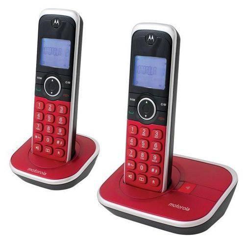 Telefone Sem Fio Motorola Gate 4800r-2 6.0 com Identificador
