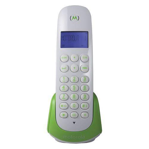 Telefone Sem Fio Motorola Moto700g Identificador de Chamada Branco