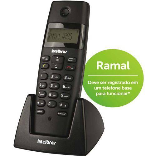 Telefone Sem Fio + Ramal Ts40c Preto Intelbras