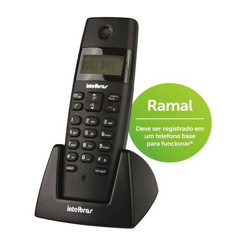 Telefone Sem Fio Ramal Ts40r Preto Intelbras