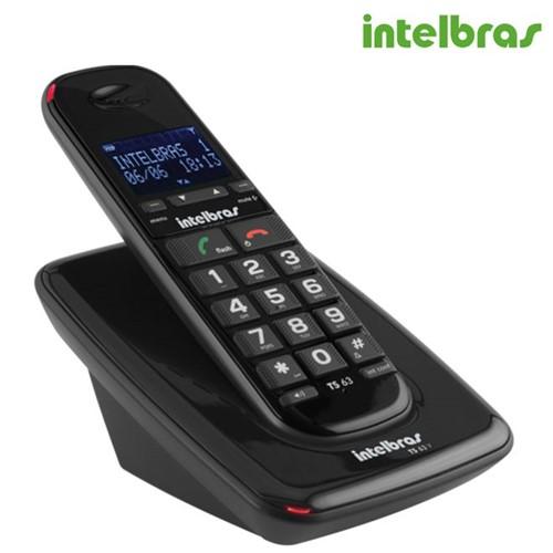 Telefone Sem Fio TS 63V com Viva Voz PT 4000048 - Intelbras