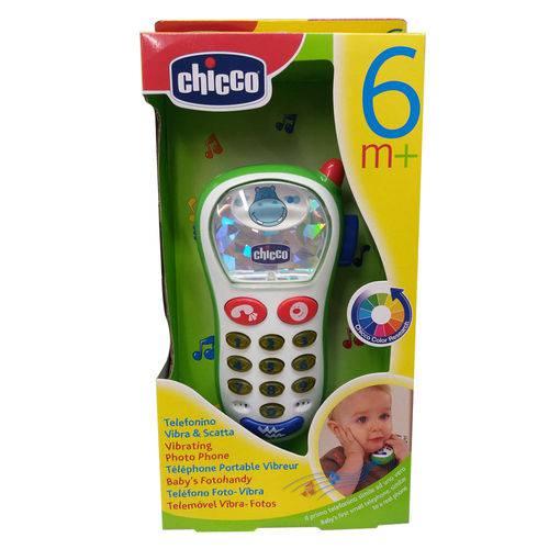 Telefone Vibra e Capta com 10 Sons - Hipopótamo - Chicco