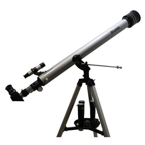 Telescópio Astronômico Refrator Luneta 675x 60mm 900mm Mod 90060 Marca Bluetek