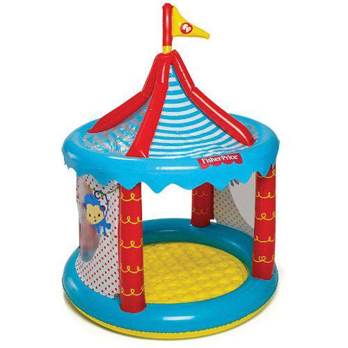 Tenda Circo Inflável com 25 Bolinhas - Fisher-Price