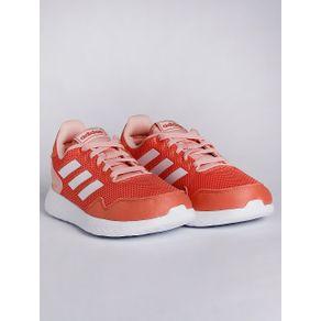 Tênis Adidas Archivo Infantil para Menina - Coral/branco 33