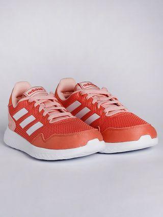Tênis Adidas Archivo Infantil para Menina - Coral/branco