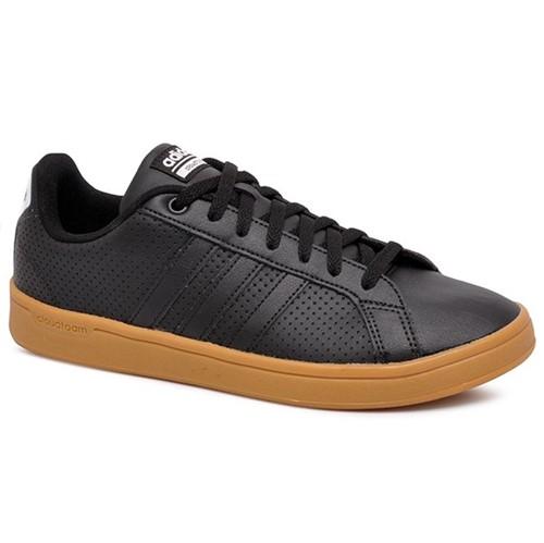 Tênis Adidas CF Advantage B43668 Preto/Preto/Branco