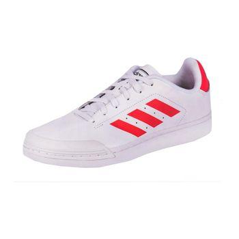Tênis Adidas Court70s Branco/Vermelho 43
