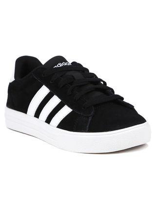 Tênis Adidas Daily 2 Infantil para Menino - Preto/branco