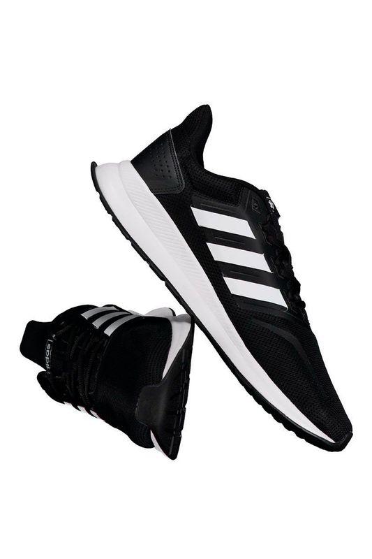Tênis Adidas Falcon Preto e Branco Tam. 39