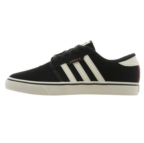 Tênis Adidas Seeley Black White Scarle (41)