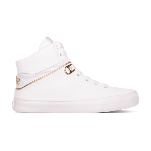 Tênis Alfa Branco Dourado 37