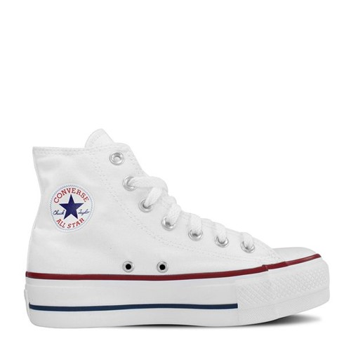 Tênis All Star Chuck Taylor Platform Branco Marinho