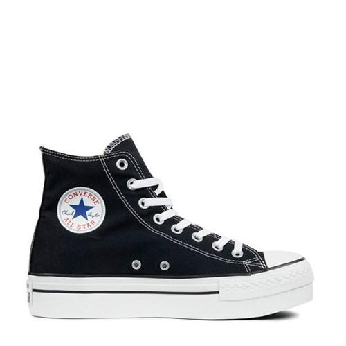 Tênis All Star Chuck Taylor Platform Preto Branco