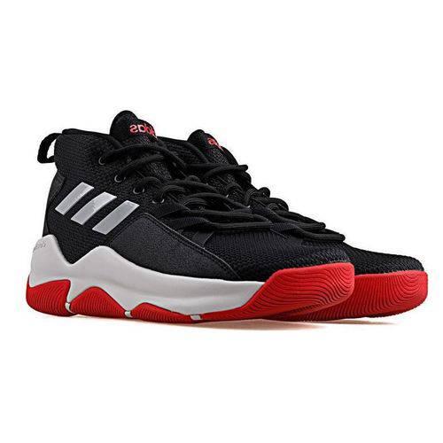 Tênis Bask Adidas Masculino Streetfire BB7007 Masculino Preto/Vermelho 39
