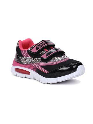 Tênis Brink Infantil para Menina - Preto/rosa