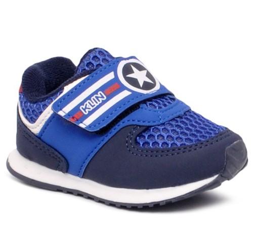 Tênis Capitão América Infantil Klin Azul Royal/Azul Marinho