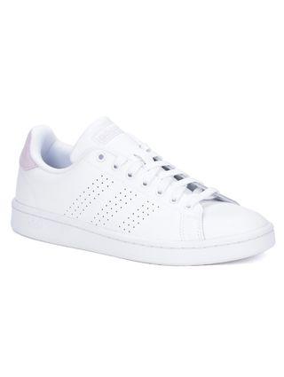 Tênis Casual Feminino Adidas Advantage Branco