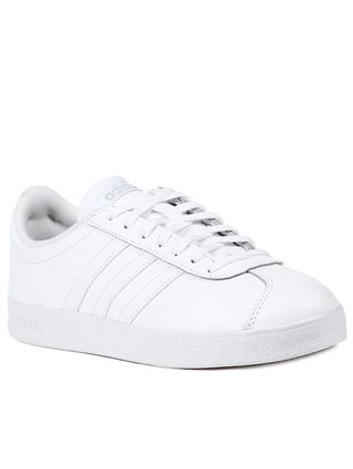 Tênis Casual Feminino Adidas VL Court 2 Branco