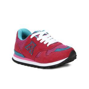 Tênis Casual Infantil para Menina - Rosa Pink 25
