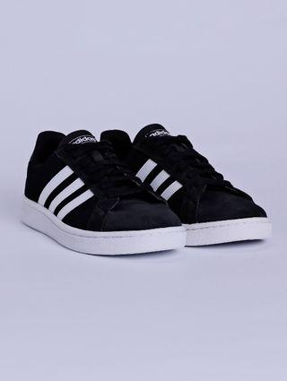 Tênis Casual Masculino Adidas Preto/branco