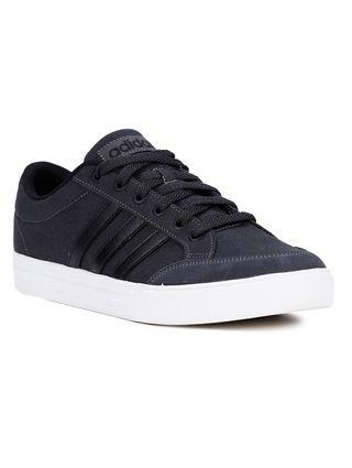 Tênis Casual Masculino Adidas Vs Set Cinza/preto