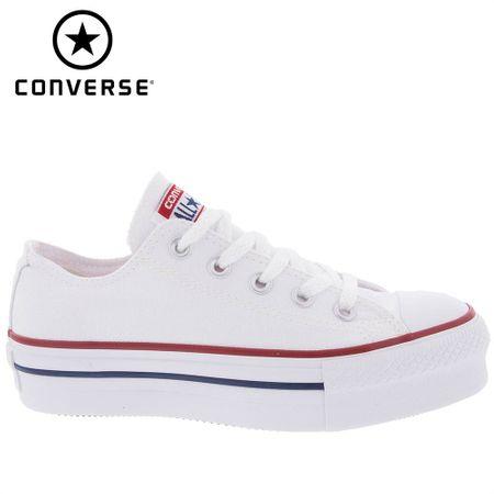 Tênis Converse All Star Flatform Branco