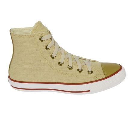 Tênis Converse Chuck Taylor All Star Hi Natural CT0435000235