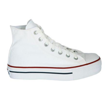 Tênis Converse Chuck Taylor All Star Platform Hi Branco CT0494000336