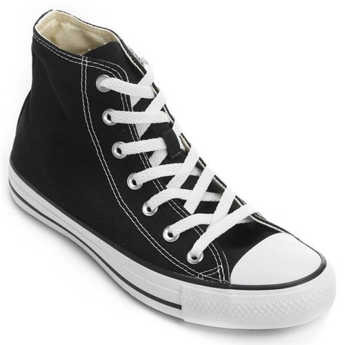Tênis Converse Chuck Taylor Hi - CT00040002 - Preto/branco - 34