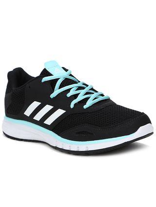 Tênis Esportivo Feminino Adidas Protostar W Preto/azul