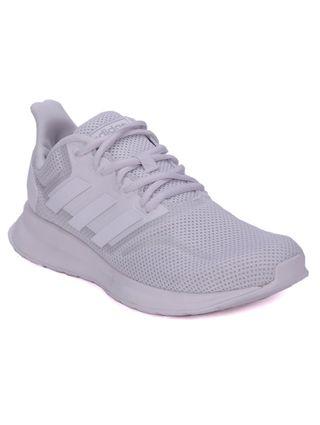 Tênis Esportivo Feminino Adidas Runfalcon Branco/preto