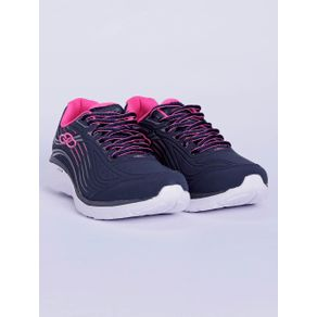 Tênis Esportivo Feminino Olympikus Dash Azul Marinho/rosa Pink 36