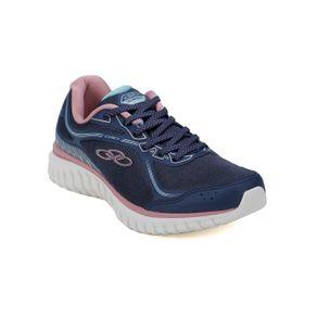 Tênis Esportivo Feminino Olympikus Exact Azul/rose 33