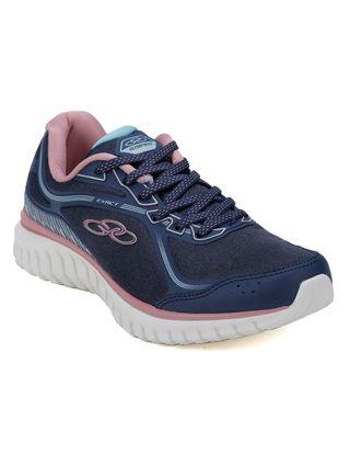 Tênis Esportivo Feminino Olympikus Exact Azul/rose