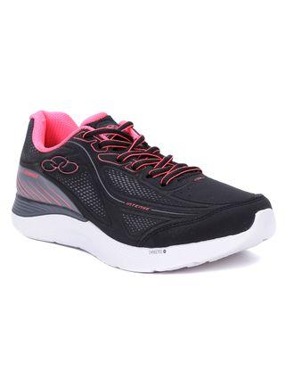 Tenis Esportivo Feminino Olympikus Preto/rosa