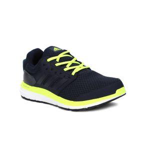 Tênis Esportivo Masculino Adidas Galaxy 3.1 M Azul Marinho/amarelo 42